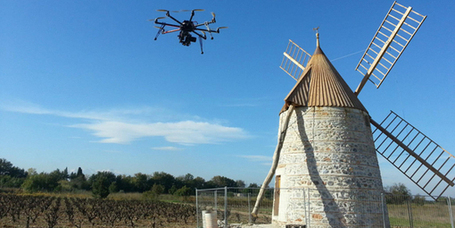 Un drone photographe au service des vignobles de Bourgogne | Technologie Au Quotidien | Scoop.it