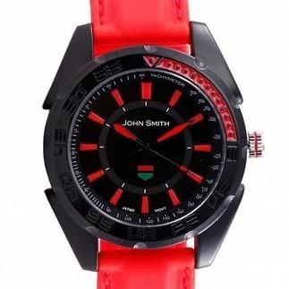Savekarlo - John Smith Gents JS-10004-GRD-RED, multicolor, red | Best Deals Online | Scoop.it
