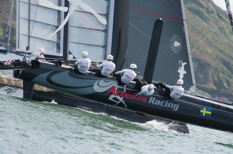 Artemis Racing shines on lighter day | America's Cup-2013_AC34 | Scoop.it