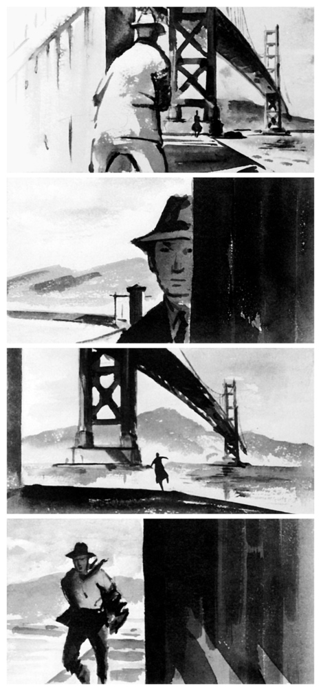 DRAWINGS FOR A MASTER: STORYBOARDS FROM THE FILMS OF ALFRED HITCHCOCK | Cultures & Médias | Scoop.it