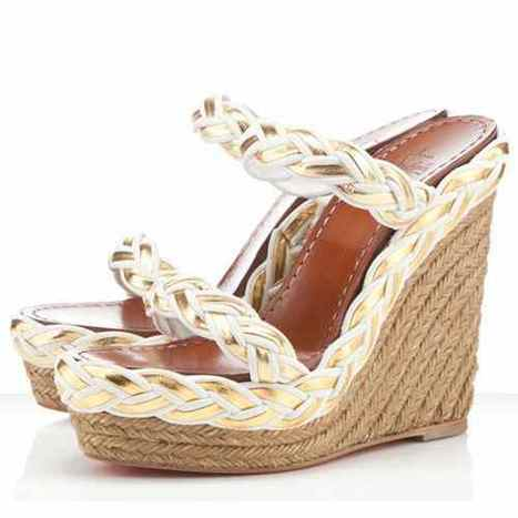 Discount Christian Louboutin Wedges Sale | louboutin wedges shoes | Scoop.it