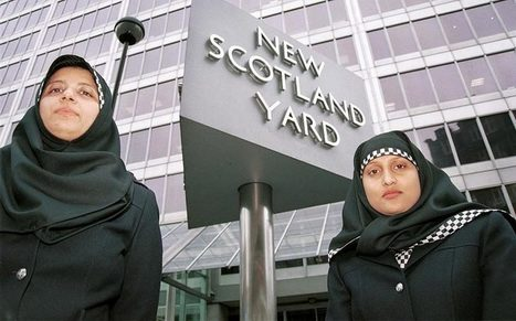 #Hijab approved as uniform option by #Scotland Police  - #DansTaGueuleFranceFinkielkrautiséeZemmourisée | News in english | Scoop.it
