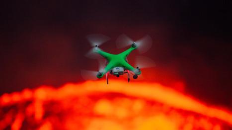 Drone Vs. Volcano: How Robotic Flyers are Changing Exploration | Peer2Politics | Scoop.it