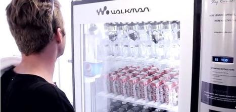 Sony sells its waterproof mp3 player inside a bottle of water | retail | Scoop.it