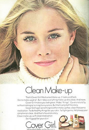 Cover Girl Makeup: A Classic Story of Women in Advertising | Double X Economy | Remake | Scoop.it