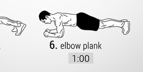 You're 5 Minutes Away From Abs Of Steel | fitness | Scoop.it