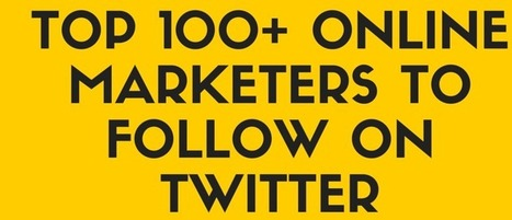 Top 100+ Online Marketers to Follow | VTNS Solutions Blog | seo strategy | Scoop.it