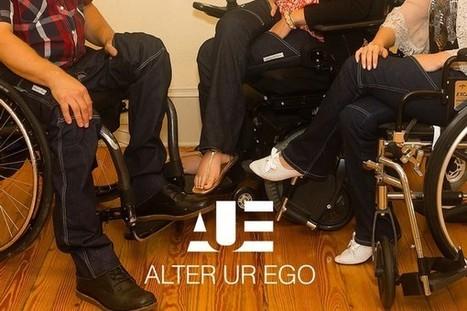 Alter UR Ego : une marque de jeans pour les personnes en fauteuil roulant | SandyPims | Scoop.it