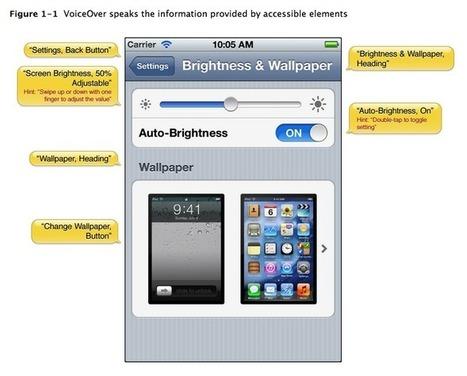 Apps y accesibilidad - Aplicaciones móvil | Educacion, ecologia y TIC | Scoop.it