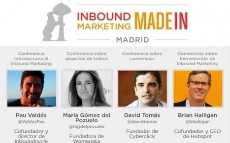 Brian Halligan, co-fundador de Hubspot, en el primer evento de Inbound Marketing en español: Inbound Marketing made in Madrid | Marketing de atraccion | Scoop.it