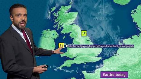 Can you pronounce Llanfairpwllgwyngyll? This weatherman did | AP Human Geography | Scoop.it