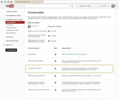 Créer un lien externe sur une vidéo YouTube (annotation et site web associé) | Le blog Rikka | Communication digitale, web et social media | Scoop.it