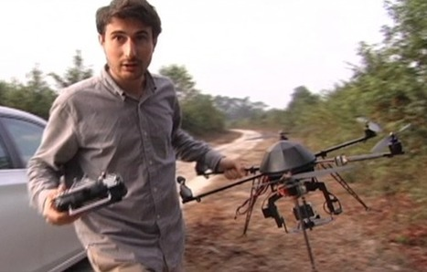 Exclusive Interview with Factory Farm Drone Documentarian Mark Devries - Ecorazzi | Plant Based Transitions | Scoop.it