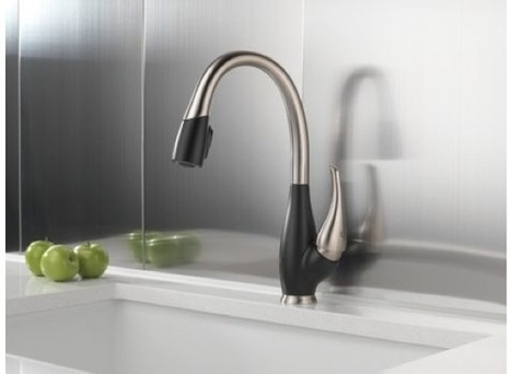The Fuse Kitchen Faucet by Delta | Art, Design & Technology | Scoop.it