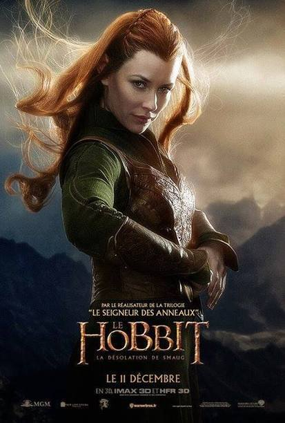 Another Round Of Character Posters For THE HOBBIT: THE DESOLATION OF ... - Comic Book Movie | 'The Hobbit' Film | Scoop.it