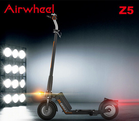 Fashionable Airwheel Smart Pride Mobility Electric Scooters Saves Your Money | Press Release | Scoop.it