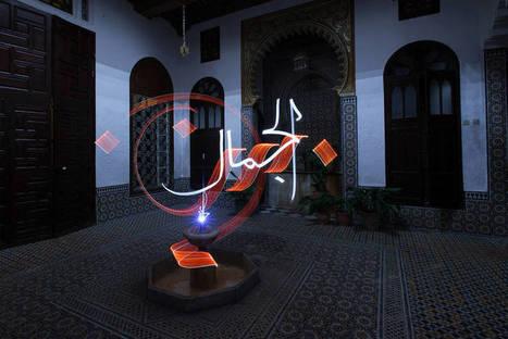 Light Calligraphy Around the World | calligraphie | Scoop.it