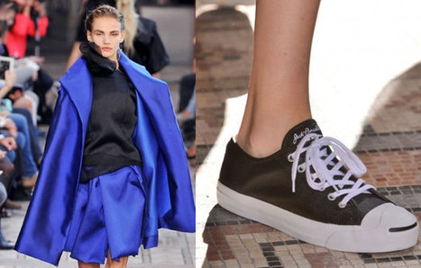 PFW: Gonne ampie e sneakers per Moon Young Hee | fashion and runway - sfilate e moda | Scoop.it