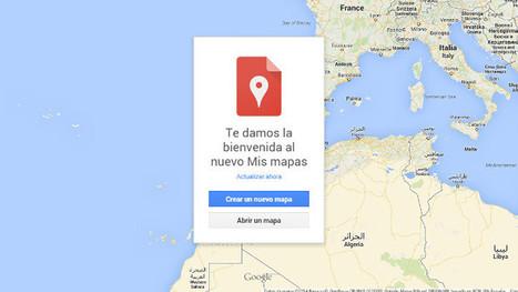 Google Maps ya permite crear, personalizar y compartir nuestros propios mapas | Educadores Digitales | Scoop.it