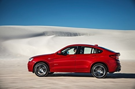 The BMW X4 can hit 60 in 5.2 seconds, comes to the US with two engines - eGMCarTech   Fantastic BMWs in Melbourne   Scoop.it