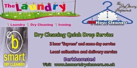 Dry cleaning and Laundry Services: Dry Cleaning Quick Drop Services | B Smart Dry Cleaners | Scoop.it