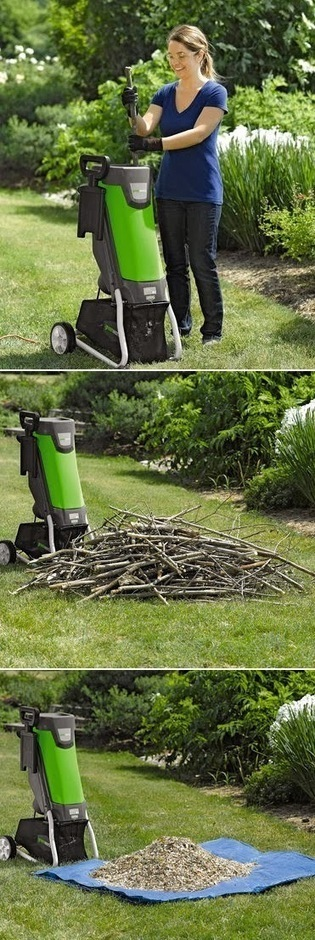 Electric Chipper Transforms Brush Piles into Useful Mulch | World In Green | Scoop.it