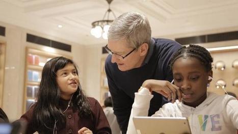 Kostenloser Programmierunterricht in allen Apple-Läden | Informatik & Robotik in der Schule | Scoop.it