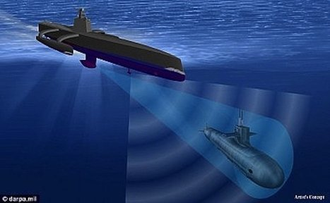 The US Navy is testing a submarine-hunting drone ship | Digital Identity and Access Management | Scoop.it