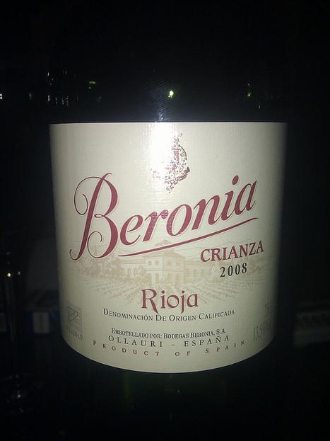 #vinhodanoite Beronia Crianza 2008 de Rioja | Flickr - Photo Sharing! | #vinhodanoite | Scoop.it