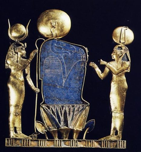 El pectoral de la reina Kama | Heroes egipcios | Scoop.it