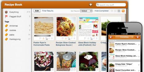 Springpad Notebook Template: The Recipe Notebook « Springpad Blog | Quality Through-ICT | Scoop.it