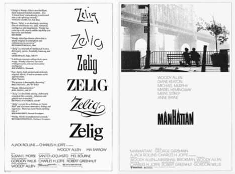 Graphic neuroses: how Woody Allen's movie posters reflect his films | D_sign | Scoop.it