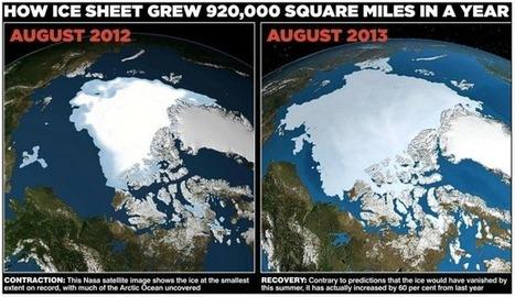 La Terre serait-elle en train de se refroidir? La glace arctique a progressé de 60% en un an | JOIN SCOOP.IT AND FOLLOW ME ON SCOOP.IT | Scoop.it