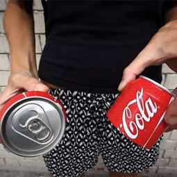 Las latas de Coca-Cola se parten ahora en dos y ¡se pueden compartir! | advertising | Scoop.it
