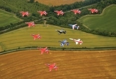 Red Arrows Mark Birthday With Rare Formation   OHS, the Aviation industry & Myself   Scoop.it