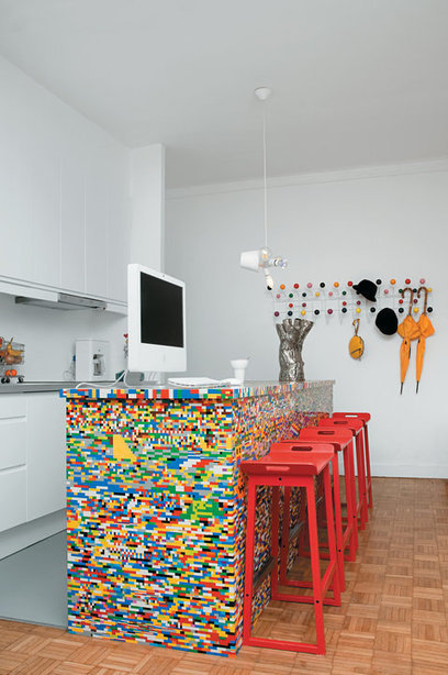Lego kitchen island | All Things Kitchen and Bath | Scoop.it