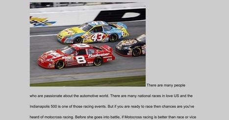 auto racing versus motocross racing   motor cars   Scoop.it
