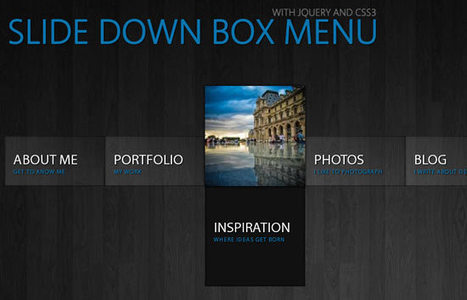 46 Creative & Free Drop Down Menus in HTML5 and CSS3 | Programmation | Scoop.it