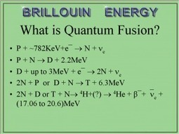 Brillouin Inventor Shares Some Interesting Thoughts on LENR | Cold Fusion News | Nuclei Entrepreneurship | Scoop.it