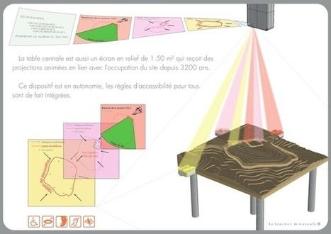 Le toucher minuscule conçoit et réalise un écran tangible pour le Musée archéologique du Val d'Oise. - Actualités Pro de Museumexperts | ZignomaTics | Scoop.it