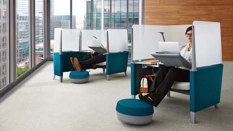 New desk chair will let employees hide from coworkers | Office Environments Of The Future | Scoop.it