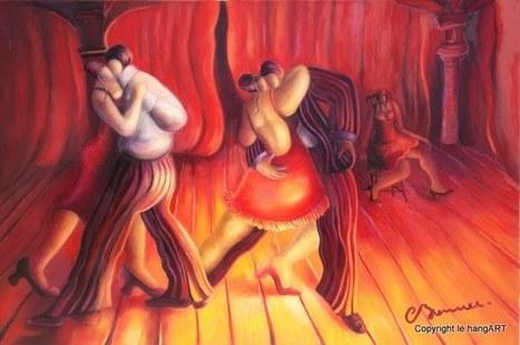 Tableau brenner 293 - Le concours de tango | Tableaux de C. Brenner | Scoop.it