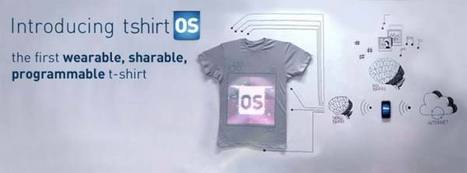 Wearable Computing Taken To The Next Level With T-Shirt OS - All ... | shubush healthwear | Scoop.it
