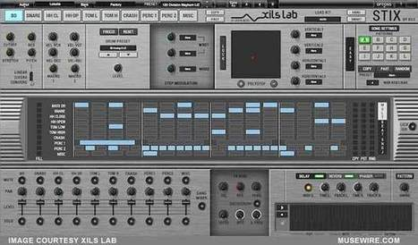 XILS announces StiX, a Virtual Analog and MultiSynthesis Drum Machine with NextGen XoX Sequencer | MuseWire | Neotrope News Network | Scoop.it
