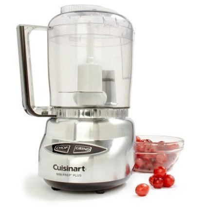 Factory Refurbished Cuisinart DLC-4CHB Mini-Prep Plus 4-Cup Food Processor, Brushed Stainless Steel | Cheap Top Food Processors Sale Price | food Processors | Scoop.it