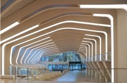 L'architecture moderne de la bibliothèque de Vennesla, en Norvège.   Architecture des bibliothèques   Scoop.it