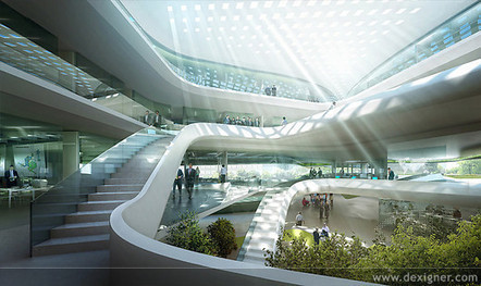 LAVA Designs Green Climate Fund Headquarters, Bonn | Top CAD Experts updates | Scoop.it