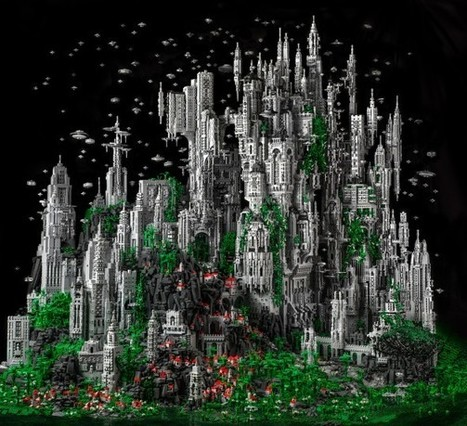 Lego : une construction hallucinante de 200 000 pièces | The Blog's Revue by OlivierSC | Scoop.it
