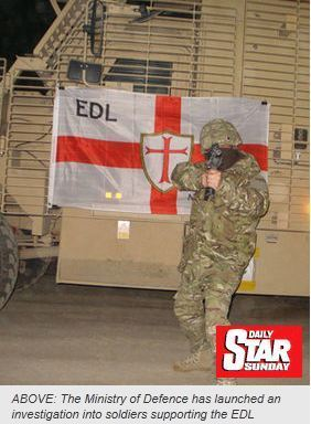 Brian Whelan the Commie moaning about the Army supporting the #EDL#shockshockhorror | The Indigenous Uprising of the British Isles | Scoop.it