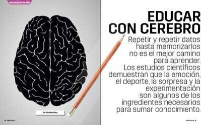 Neuroeducación, o cómo educar con cerebro | A pie de aula | Scoop.it